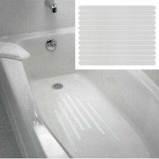 12pcs Bath Treads Anti Slip Non Skid Stickers Adhesive Mat Bathtub Safety Decal