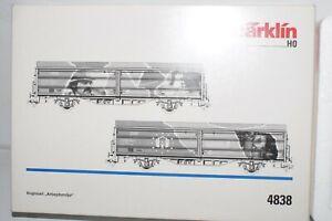 B 216: Märklin 4838 Wagenset DSB Schiebewandwagen KKK NEU+OVP