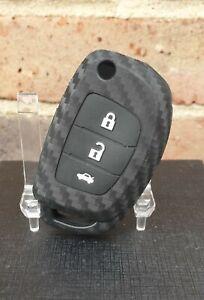 Silicone Key Case Cover(Carbon look) for Hyundai Tucson,Sonata i20 i40 ix35