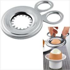 Hot New Topper Boiled Stainless Steel Cutter Scissors Clipper Soft Cooked Egg LG