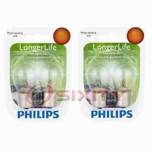 2 pc Philips Brake Light Bulbs for Mercedes-Benz 190D 190E 200D 220 220D 230 pz