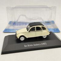 IXO 1/43 Citroen 3CV IES Super America 1987 beige Diecast Models Limited Edition