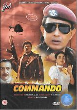 COMMANDO - MITHUN chakraborty - Nuevo Original Bollywood DVD