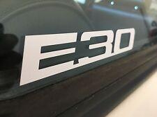 E30 white vinyl decal BMW, superior quality, Euro Bimmer
