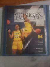 2018 - 2019 Michigan Wolverines Basketball Program Simpson