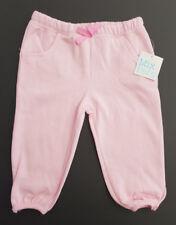 Bnwt Little Girl 2 Mix Brand Pink Lady Keyhole Fleece Track Pants