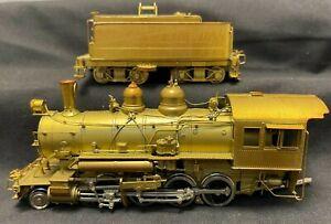 Westside HO Scale Brass Sierra Railroad #24 2-8-0 - DNR - Good Condition
