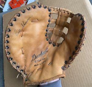 Denkert Bill 'Moose' Skowron Vintage 1st Baseman Baseball Leather Glove ST14 RH