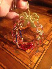 Christmas Wreath  With Earrings Ghirlanda Di Natale Con Orecchini