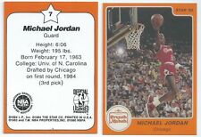 "1984 Micheal Jordan Rookie Crunch ""N' Munch STAR Company RP #7"