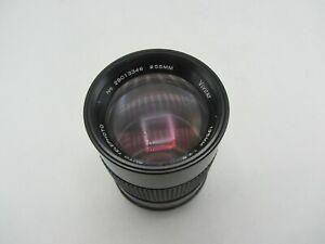 Vivitar Auto Telephoto F2.8 135mm Pentax K PK Lens for SLR / Mirrorless Cameras