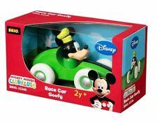Brio Disney Race Car Goofy Mickey Mouse Club House Wooden Toy