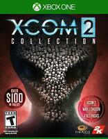 XCOM 2 Collection Xbox One X Enhanced Rated T Teen New Sealed 4 Expansion Pack