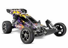 Traxxas Bandit VXL Brushless RC Buggy 1/10 ARTR 2.4G TSM Purple Violett 24076-4