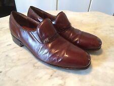 Rare Dack'S vintage '80 kangaroo leather mens dress loafers shoes sz 9.5