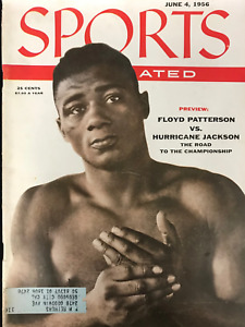 June 4, 1956 Floyd Patterson Boxing SPORTS ILLUSTRATED