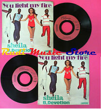 LP 45 7'' SHEILA B. DEVOTION You light my fire Gimme your loving no cd mc dvd
