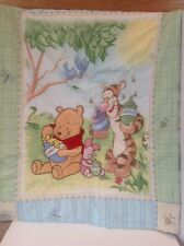 Disney Winnie The Pooh Baby Crib Blanket Comforter Hunny Pots Bees
