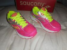 Girls Saucony Cohesion 8 Pink/Yellow  Size 13 Wide New