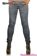 Sexy Women's Trousers Plus Size Pants Everyday Skinny Treggings Size 14,16,18