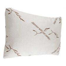 Queen Size Bamboo Pillow Shredded Memory Foam Version Hypoallergenic Comfort