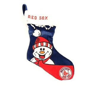 Boston Red Sox Christmas Holiday Stocking