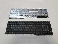 Keyboard Fujitsu E753 E754 E554 E556 UK Laptop Black WITH FRAME Without Backlit