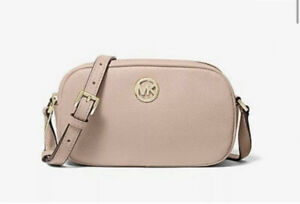 michael kors cross body beige shoulder bag NWT