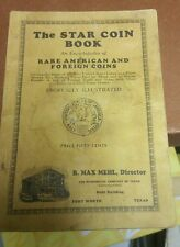 Star Coin Book Numismatic Price Guide Rare Coins - Max Mehl 42nd Edition