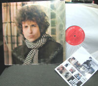 BOB DYLAN Blonde on Blonde 2 LP girlfriend c2s841 orig 2eye claudia w/stickers!