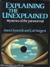 Explaining The Unexplained : Mysteries Of The Paranormal (hardback 1982)