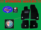 TAPPETINI tappeti Alfa Romeo 147 SU MISURA con 4 loghi e battitacco in gomma