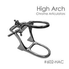 Denture Articulator High Arch Chrome 6-Articulators New