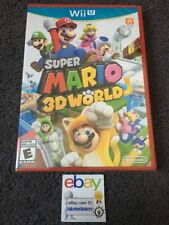 Super Mario 3D World Nintendo Wii U ~ Not For Resale Edition ~ Brand New