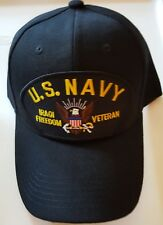 U.S. NAVY IRAQI FREEDOM VETERAN Military Ball Cap