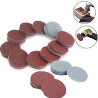 "100x 50mm Mixed 2"" Sanding Disc 80 to 3000 Grit  Sander Polishing Pad Sandpaper"