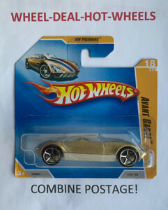 HOT WHEELS 2009 HW PREMIERE AVANT GARDE RARE SHORT CARD MOC!