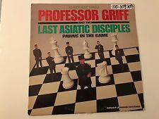 "PROFESSOR GRIFF & THE LAST ASIATIC DISCIPLES Pawns in the Game  12"" vinyl RARE"