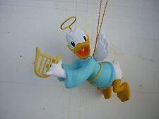 Grolier Disney Ornament Donald Duck As An Angel Christmas Decoration MIB