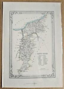 1868; Banff Shire; Scottish Victorian County Map; Wilson/Fullarton