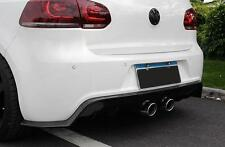 Carbon Diffusor für VW Golf 6 R R20 Spoiler Heck schürze ansatz hinten Flaps DTM