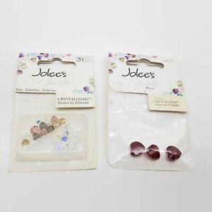 Jolee's Jewels Crystallized Swarovski Elements Heart & Star Bead Lot