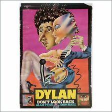 Bob Dylan 1967 Don't Look Back Film Promotional Posters (UK)