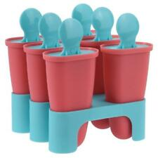 ORION Eisformen 6 Eis Pop Macher Eiscreme Halter Wassereis 6 Stück BPA Frei