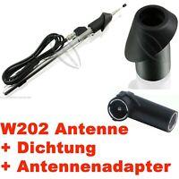 Garde-Boue Antenne Télescopique pour Mercedes W201 Classe + Adaptateur D'Antenne