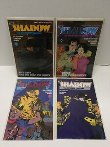 The Shadow #1-4 (1986) Howard Chaykin FULL COMPLETE RUN 4 Issues VF/NM #1 2 3 DC