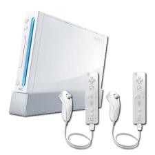 Pack: Wii + 2 Wiimote + 2 Nunchuk