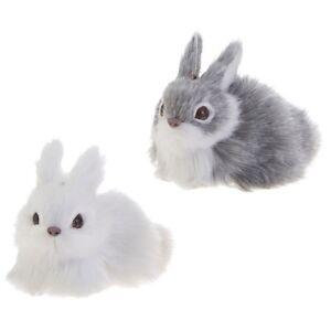 Plush Bunny Ornaments