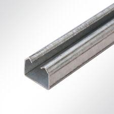 Lysel® Laufschiene verzinkt 25x19mm 2 Meter Schiebetor Schiebetür Hallentor