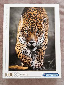 Jigsaw Puzzle ~ Walk of the Jaguar ~ Clmentoni ~ 1000 Pieces